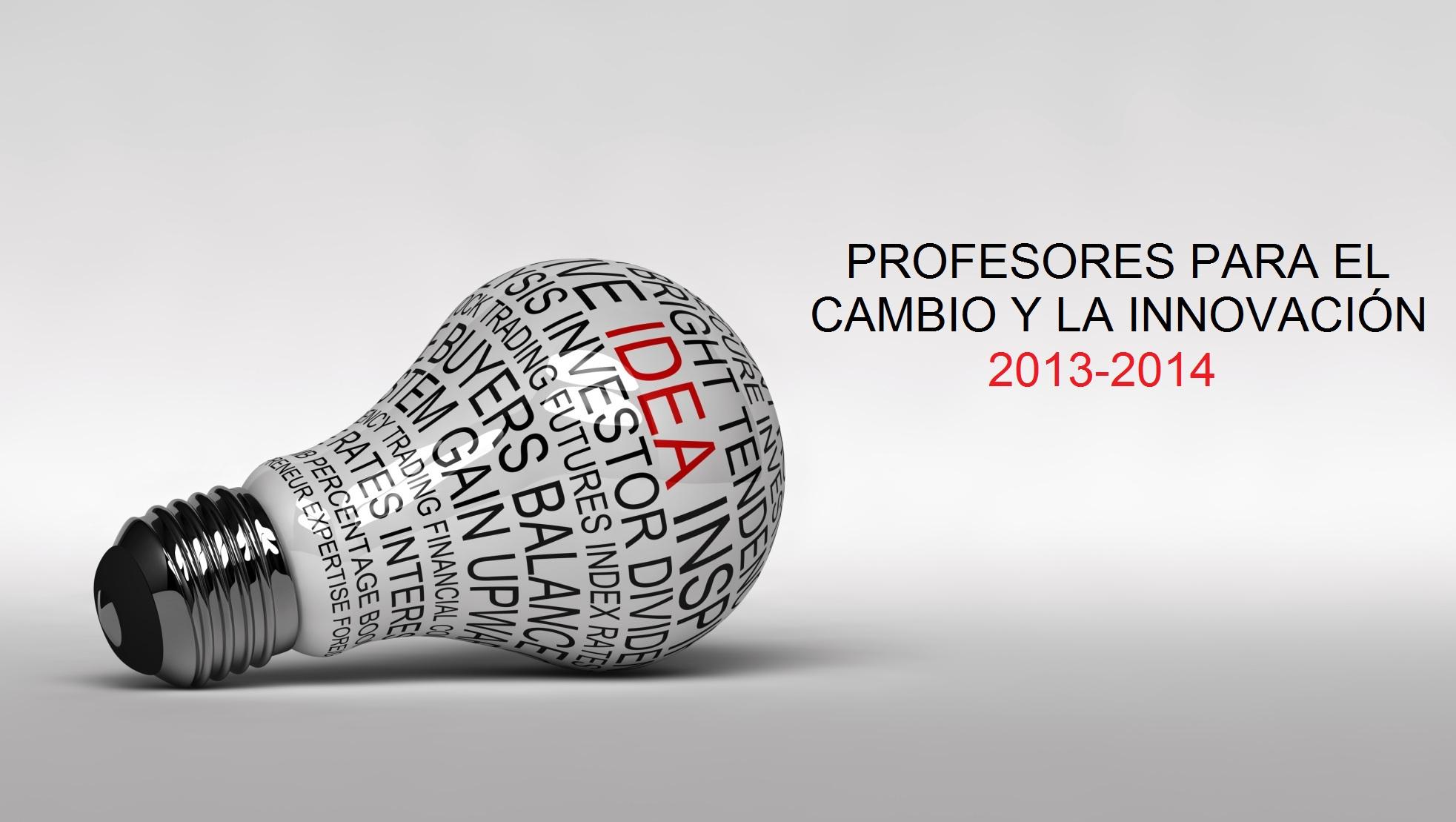 Un 2013 con más profesores para el cambio y la innovación