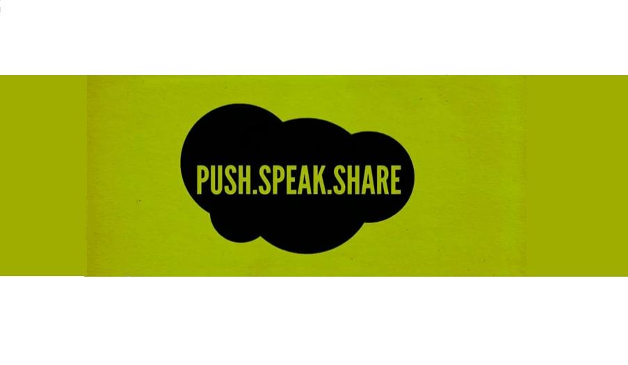 Pulsa, habla y ¡comparte!