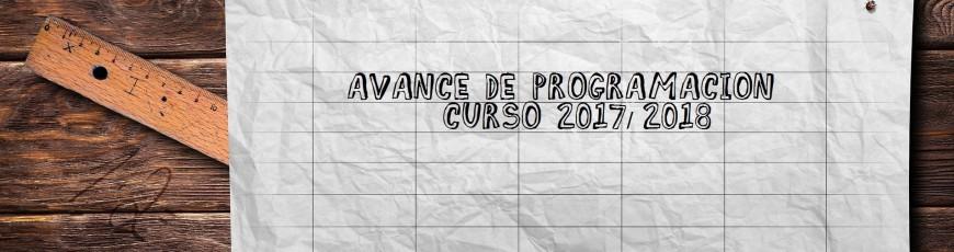 Programación curso 2017/2018