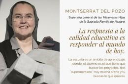 Conversación pedagógica con…Montserrat Del Pozo