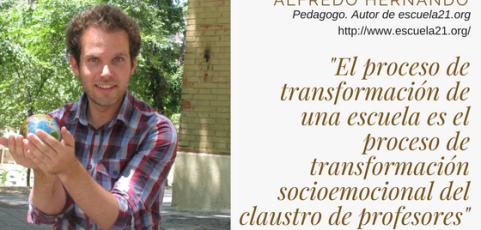 Conversación pedagógica con…Alfredo Hernando