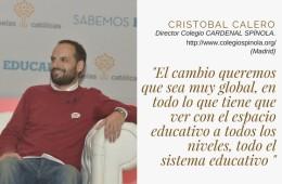 Conversación pedagógica con…Cristóbal Calero