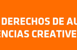 Derechos de autor y licencias Creative Commons